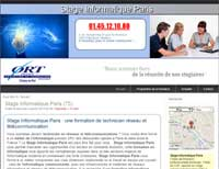 Stage informatique Paris